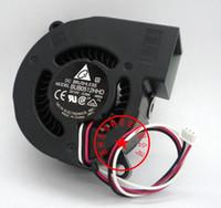 Delta 5cm 5015 12V 0.28A BFB0512VHD 3 fili Blower, ventola di raffreddamento BUB0512HHD 0.26A
