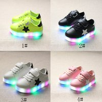 LED Shoes For Children Kids Lighting Sport Running Shoe Casu...