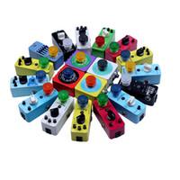 10PCS Mooer bonbons colorés Footswitch Topper Pare-chocs en plastique protecteur pour guitare Footswitch pédale d'effet