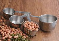 410 Edelstahl Käse Werkzeuge Fondue Set Wärme Schokolade Milch Käse Kaffee Messen Ware Kochen Backen Werkzeug notwendig benutzerdefinierte