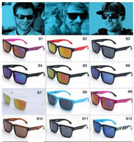 MOQ = 50PCS 사람 대부분의 패션 NEW 스타일의 켄 블록의 바람 일 안경 무료 선박을 순환 남성 브랜드 스타일의 선글라스 스포츠 남성 안경 안경