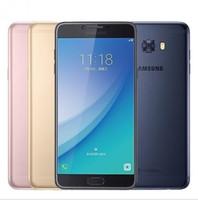 """Оригинальный Samsung Galaxy C7 Pro смартфон 4G RAM 64G ROM Octa Core Dual SIM 5.7"""" 3300mAh 16MP 4G LTE отремонтированный телефон"""