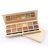 MISS ROSE 12 Colors Matte SHIMMER Eyeshadow Palette Nude Col...