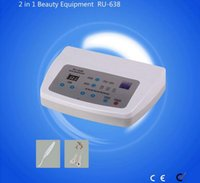 Ru-638 Mini facial dark spots removal beauty machine High Frequency Vibration Device 2 in 1 Multifunction Ultrasonic and Remove Spot Best Ma