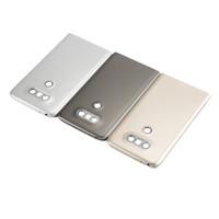DHL 200pcs / lot Yeni Yedek LG G5 H850 H840 H830 Gri Gümüş Gold için Pil Kapağı Geri Arka Kapı Konut Kılıf