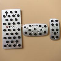 Alta qualità Pedale dell'acceleratore antiscivolo / gas / carburante per pedali AT pedali per Nissan X-TRAIL 2006-2011, Car Styling