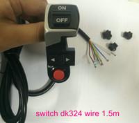 Frontlicht Ein-Auslicht + Horn + Drehen Lichtschalter für Elektroroller Fahrrad MTB Pedal-Umwandlung Teile Elektrische Fahrrad-Zubehör