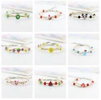 High quality Cute female cartoon couple sisters bracelet simple sweet jewelery FB108 mix order 20 pieces a lot Charm Bracelets