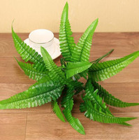 Artificial Plastic Fern Plant Fake Flower Wedding Flower Arr...