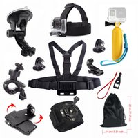 12 in 1 sports camera accessories kit headband chest bucket ...