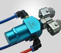 Ursprüngliche automatische Zweikomponentenpistole für Chrom, silberner Spiegel und Nanomalerei mit 100% Qualitätsgarantie geben DHL Verschiffen frei