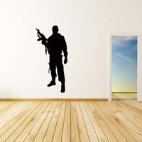lHot Sale For Army Soldier Wall Vinyl Sticker Decal Art Remo...