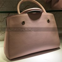 new fashion hot woman lady genuine leather L Embossed letter...