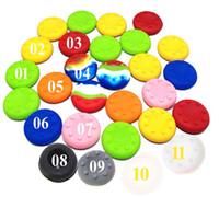 Caps silicone Livraison gratuite Pouce caoutchouc bâton GRIPS cas pour XBOX 360 / PS3 / PS4 / XBOX Un contrôleur joypad joystick Thumb Stick Grip Analog