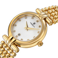 Luxury brand pearl strap diamond shell face TWINCITY women&#...