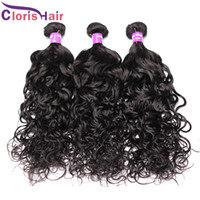 Great Quality 3pcs Virgin Malaysian Water Wave Hair Weaves C...