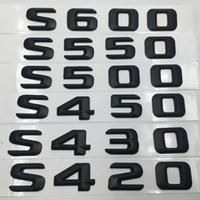 Accessori per automobili S420 S430 S450 S500 S550 S600 coda della parte posteriore Logo Emblemi Badge Targa Adesivi Mercedes Benz W220 W221
