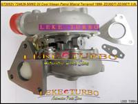 مبرد بالزيت تيربو GT2052V 724639-5006S 705954-0015 724639 705954 شاحن توربيني لنيسان باترول MISTRAL Terrano ZD30 ZD30ETi 3.0L
