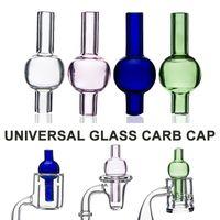 Cupola della sfera rotonda del cappuccio della bolla di vetro colorata universale della bolla per le tubature dell'acqua di vetro, impianti dell'olio di Dab, chiodi termici del Banger di quarzo spessa di XL