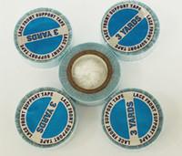 Frete grátis 5 pcs Azul Fita Adesiva de Extensão Do Cabelo Do Laço Peruca Cola Super Fita Para A Extensão Do Cabelo Humano Adesiva Dupla-Face Fita Para Peruca