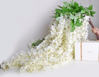 100Pcs lot 165cm Long Elegant Wisteria Rattan Artificial Sil...