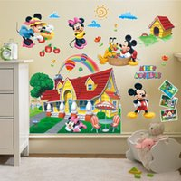 Minnie Mouse and Friends Clubhouse 3D Wall Sticker Vinyl Mur...