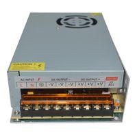 Fuente de alimentación del interruptor del transformador DC12V 1A 2A 3.2A 5A 10A 15A 15A 30A 40A Transformadores de iluminación para la tira LED AC100-240V A 12V