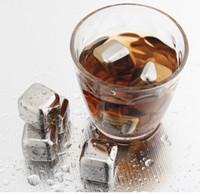 DHL виски вино пиво камни льда охладитель нержавеющей стали охладители камень рок кубик льда съедобные алкоголь физического охлаждения