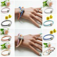 Pulseiras Para As Mulheres Moda Jóias Shambhala Nova Mistura de Cores Promoção de Vendas Shambala Crystal Charm Bracelets