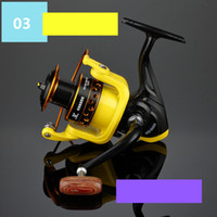 Sea Boat Spinning Fishing Reel HD1000- 7000 Series 12BB Yello...