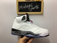 5s Classic 5 white cement red blue suede 5s camo Basketball ...