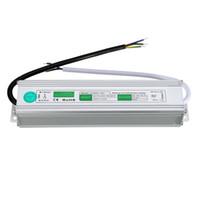 12V 24V impermeabile driver LED elettronico ad alta potenza di trasporto di alimentazione del trasformatore 90V-250V a 12V 24V 60W IP67 tensione costante