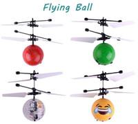 3 arten knistern kristall rc flying ball infrarot sense induktion mini flugzeug led blinklicht fernbedienung ufo spielzeug mit kleinpaket
