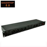 TIPTOP 무대 조명 TP-D05의 DMX 4로드 웨이 분배기 전압 절연 기술 보호 회로 포트 CE ROHS 단계 컨트롤러