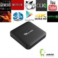 Amlogic S905W TX3 PRO Android 7. 1 4K H. 265 TV BOX Media Play...