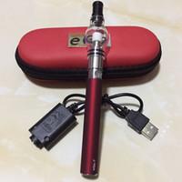 Globo Globe Tank Atomizzatore Portatile Atomizzatore Custodia con cerniera Kit di avviamento Ego T Batteria M6 Cera Herb Herb VAPorizer Pen Kit di sigarette elettronico
