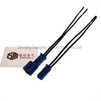 Хорошее качество синий автомобиль динамик разъем,автоматический разъем стерео,лампы автомобиля разъем с 10см кабель для BMW Х1 Х5 ECT автомобиля.