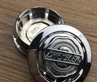عالية الجودة ABS 04895899AB 4 قطع 54 ملليمتر الفضة كرايسلر 300C سبيكة عجلة مركز محور غطاء غطاء شارة شعار سيارة التصميم اكسسوارات