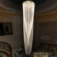 LED Crystal Chandelier Lighting Modern Chandeliers Lights Fi...
