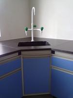 Stahl-Holz-Labortisch oder All Steel Lab Table-Eckbank für Wandbank-Seitenlabortischgebrauch