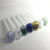 2mm Thick Glass Oil Burner Pipe with Green Blue Black White ...