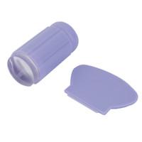 2.8 см специальное уплотнение для ногтей живопись ясно желе силиконовые Nail Art штамповка transparant stempel Стампер скребок маникюрные инструменты