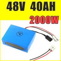 48V 40AH batteria al litio super power batteria bici elettrica 54.6V pacco batteria agli ioni di litio + caricabatterie + BMS, dazio doganale gratuito