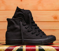 هبوط السفينة نجمة كبيرة الحجم 35-45 ارتفاع أعلى عارضة الأحذية منخفضة أعلى نمط الرياضة نجوم تشاك الكلاسيكية قماش حذاء أحذية رجالية المرأة قماش أحذية