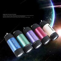 Linterna Ultra Brillante Mini USB Recargable Led Lámpara de Iluminación Linterna Antorcha Llavero LED Luz 5 Color