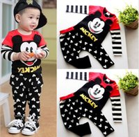2017 Hot Sale 2pcs   set Kids Baby Suit Boys Girls Long Slee...