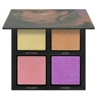New Beauty Summer Solstice 3D Highlighter palette 4 colors A...