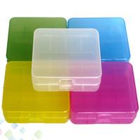 2 * 26650 batterie cas boîte titulaire de sécurité conteneur de stockage coloré de haute qualité en plastique portable cas fit 26650 batterie DHL gratuit