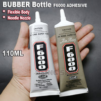 Wholesale- F6000 110ml Needle Nozzle Adhesive Glue, Rubber fle...