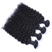 최고의 품질 브라질 머리카락 인간의 버진 머리카락 위브 몽골 말레이시아 인디언 페루 제리 컬리 헤어 익스텐션 처리되지 않음 무료 배송